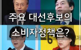 주요 대선후보 소비자정책 비교·분석결과 발표