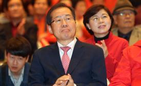 '꼼수사퇴' 홍준표 후보, 유권자가 심판해야