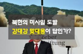 [카드뉴스] 북한의 미사일 도발, 강대강 맞대응이 답인가?