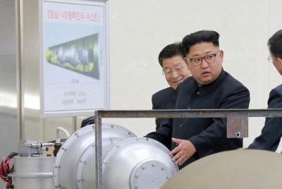 북한의 6차 핵실험 강력 규탄 한다.