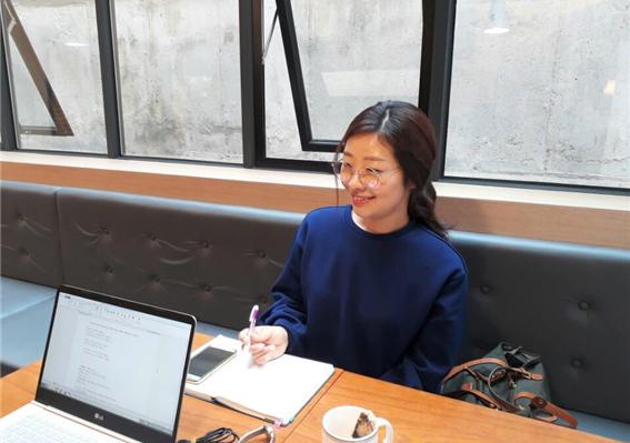 뻘때추니 정혜진 작가 인터뷰