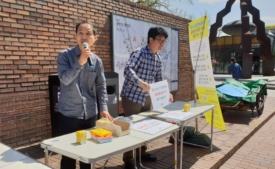 [현장스케치]GMO완전표시제 국민청원 캠페인(4월 2일 ~6일)