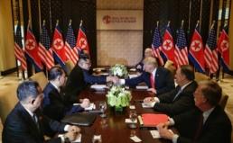 북·미 정상의 역사적 만남과 합의를 환영 한다