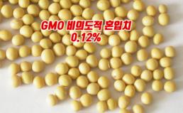 수입 대두 비의도적 GMO 혼입치 현황 분석결과