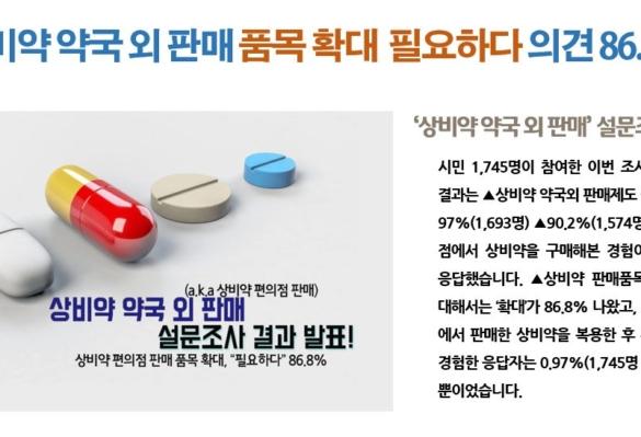 [2018-32호] 상비약 약국 외 판매 품목확대