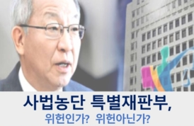 [카드뉴스] 사법농단 특별재판부, 위헌인가? 아닌가?