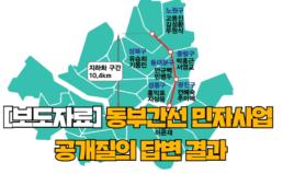 [보도자료] 동부간선 민자사업 공개질의 결과 발표