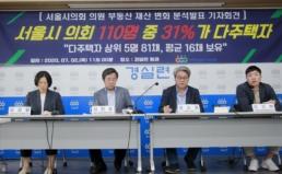 [기자회견] 서울시의회 부동산재산 분석발표