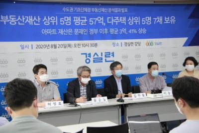 [기자회견] 수도권 기초단체장 부동산재산 분석결과 발표