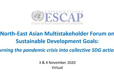 """[의견서] UN ESCAP 지속개발가능 포럼 """"디지털 경제"""" 부문 동북아 시민사회 권고안"""