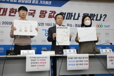 [기자회견] 정권별 대한민국 땅값 분석결과 발표 기자회견