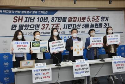 [기자회견] SH 택지매각현황 실태분석 발표