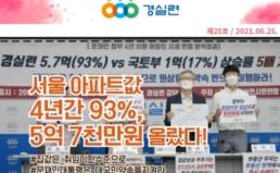[2021-25호] 서울 아파트값 4년간 93% 올랐다!