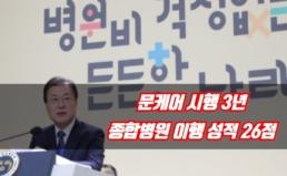 [보도자료] 문케어 시행 3년, 종합병원 이행 성적 26점
