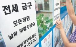 한국감정원의 전세가 상승 엉터리 통계분석