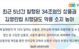 김영란법 시행돼도 상품권 악용 소지 높아