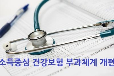 정부의 건강보험부과체계 개편방안에 대합 입장