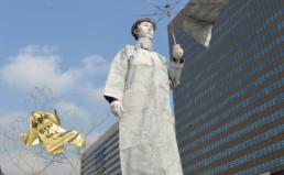 18대 대선 경실련 정책과제 알리기(스태추마임) – 노동시장개혁