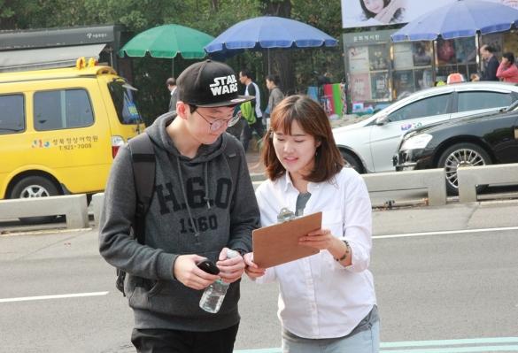 [서민주거안정 소망캠페인] 둘째날 – 거리캠페인(대학로)