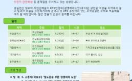 [5/29, 대전] KTX 지역순회 토론회 개최